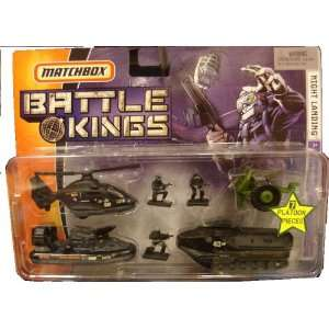 Matchbox Battle Kings Night Landing Military Set Toys & Games