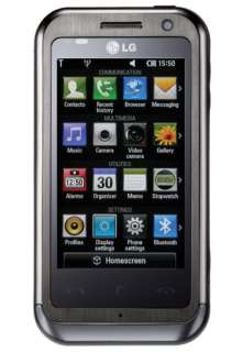 NEW LG KM900 Arena 8GB GPS 5MP UNLOCKED SMART PHONE