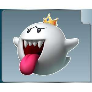 KING BOO from Super Mario Bros. vinyl decal sticker